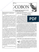 April 2010 Ecobon Newsletter Hilton Head Island Audubon Society