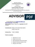 Advisory II