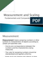 5. Measurement & Scaling