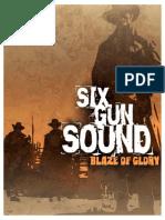Six Gun Sound - Blaze of Glory Corebook