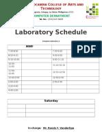 Laboratory Door Posts