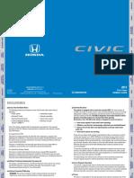 Honda Manual Civic 2017