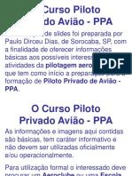 01 - Piloto Privado - Avião