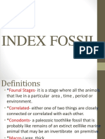 Index Fossil Power Point