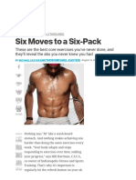 Ab Workouts for a Six-Pack