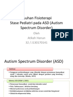 Asuhan Fisioterapi pada Autism Spectrum Disorder (ASD)