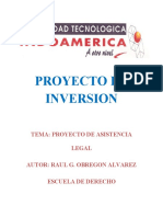 Proyecto de cia Legal Obregon