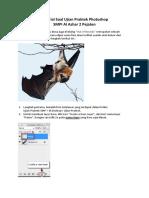 Ujian Praktek Photoshop Smp