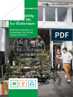 Rotterdam Programme on Sustainaibilty and Climate Change 2015-2018