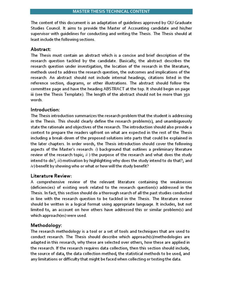 Literature review marketing strategy thesis