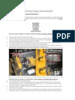 Finding Your Detroit Diesel Engine Serial Number