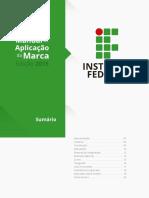 manual de aplicação da marca dos IFs - padrão 2015.pdf