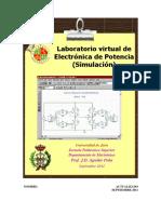 Laboratorio Alumno Potencia Pspsice Simulacion2011