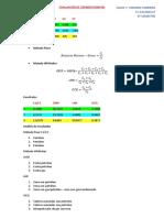 Evaluación de Cromatografías