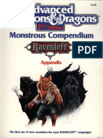 2122 - Monstrous Compendium [Ravenloft]