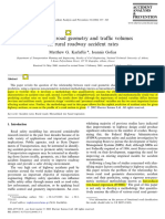 1 Effects of Road Geometry and Traffic Volumes on Rural Roadway Accident Rates