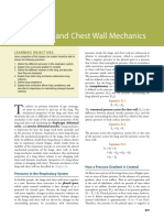 Static Lung and Chest Wall Mechanics