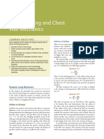 Dynamic Lung and Chest Wall Mechanics