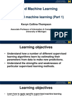 Supervised Machine learning Intro