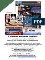 Celebrate Freedom America Sunday Aug 22, 2010
