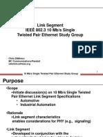 Link Segment- 10Mbs Single Pair SG