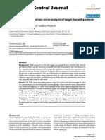 Heavy Metal Ions in Wines. Meta-Analysis of Target Hazard Quotients