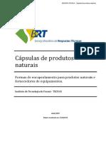 Cápsulas de Produtos Naturais