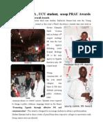 mediage pr,ucu student  scoops prau awardsand ZK advertsing scoops overall