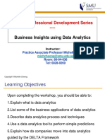 PDS - Business Insights Using Data Analytics
