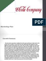 Coca-Cola Marketing Plan