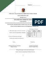 Soalan Efc Formatif 1 2017