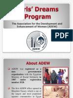 Girls Dreams Program-ADEW
