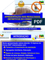 Censo 2007 Nacional