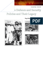 Nehru Era s Defence and Security Policies and Their Legacy