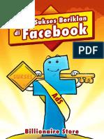 [2] Kunci Sukses Beriklan Di Facebook