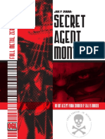 Secret Agent Monthly - July