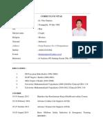 Curriculum Vitae Nata (English)