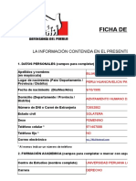 Ficha de Inscripcion Practicante Evelin Bujaico