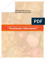 Guía Patrimonio Alimentario