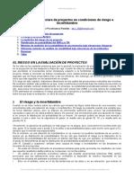 Evaluacion Financiera Proyectos Condiciones Riesgo e Incertidumbre