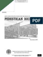 Pedestrian Bridge Design Aashto 2015 Interim
