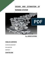 Design and Estimation of Roadside Drainage