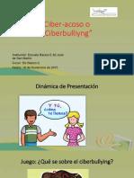 Ciberacoso o Ciberbullying
