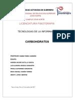 Carbohidratos TIC´S