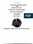 FBI Counterintelligence on Black Extremists (PT 1)
