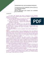 Desarrollo y Mejoramiento de Las Cualidades Morices i
