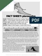 CRT Pteranodon Fact
