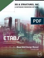ShearWallDesign Manual2016