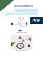 Pengertian Interferometer Michelson