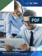MBA Controladoria e Auditoria e Compliance FGV SP 2018